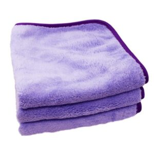 Minx Royale Coral Fleece Towel Lavender