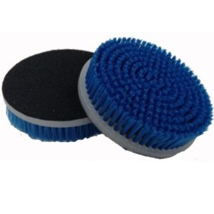 Carpet & Upholstery Brush for Orbital or DA Polishers – 5 in. x 3/4 in.