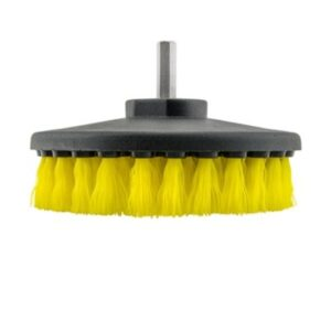 Cordless Drill Brush & Medium Duty Hair (Yellow Bristle)