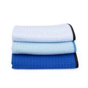 Dry Me A River Waffle-Weave Towel