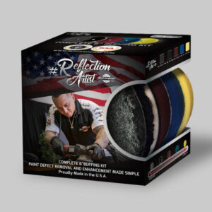Buff and Shine Reflection Artist Complete Buffing Kit 5 pads