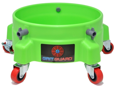 GRIT GUARD BUCKET DOLLY - GREEN
