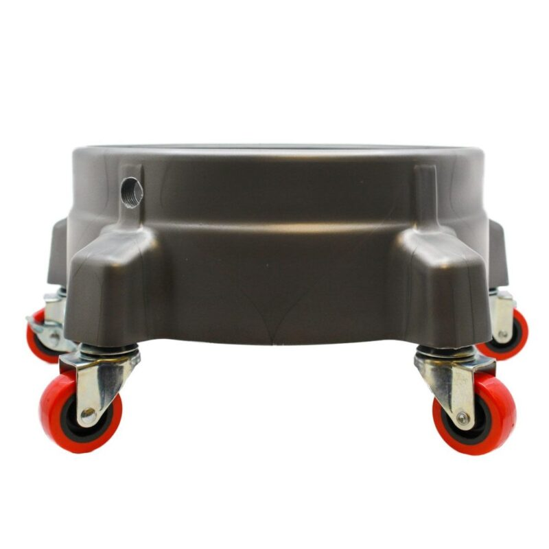 GRIT GUARD BUCKET DOLLY - GREY