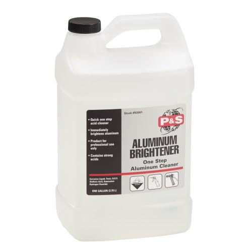 P&S Aluminum Brightener, One Step Aluminum Cleaner - 1 gal.