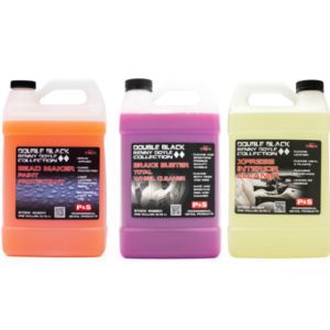 P&S Double Black Kit Bead Maker + Brake Buster + Xpress Interior Cleaner in 1-Gallon