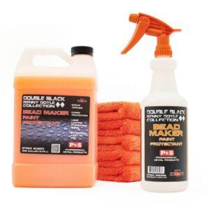 P&S Bead Maker Gallon + Sprayer Bottle with Orange Sprayer 32oz + Five Orange Towels Kit