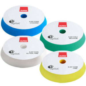 "RUPES BigFoot 5"" Foam Polishing Pad Mix & Match 4 Pack"
