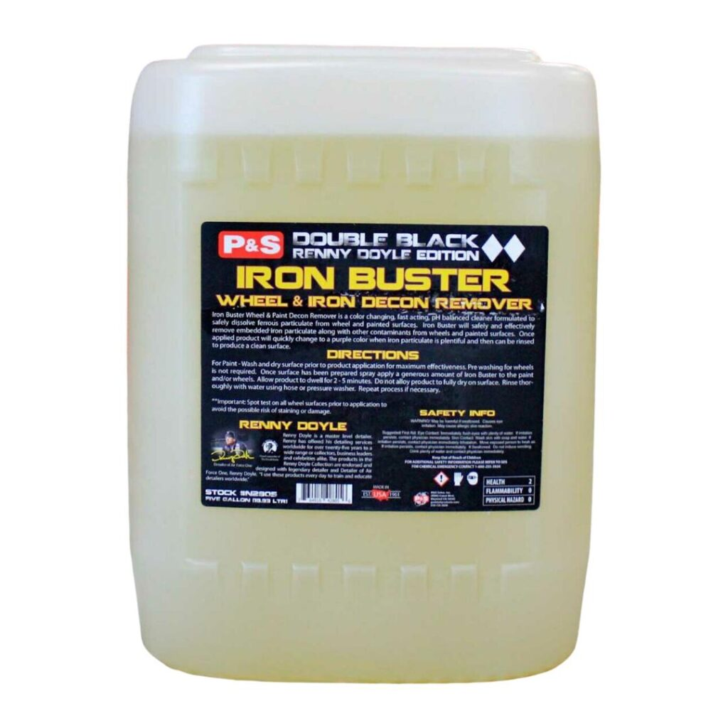 P&S Iron Buster 5 Gallon | Wheel & Paint Decon Remover