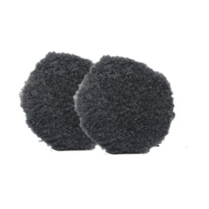"Buff and Shine Uro-Wool Blend Pad Grey 3"" Inch"