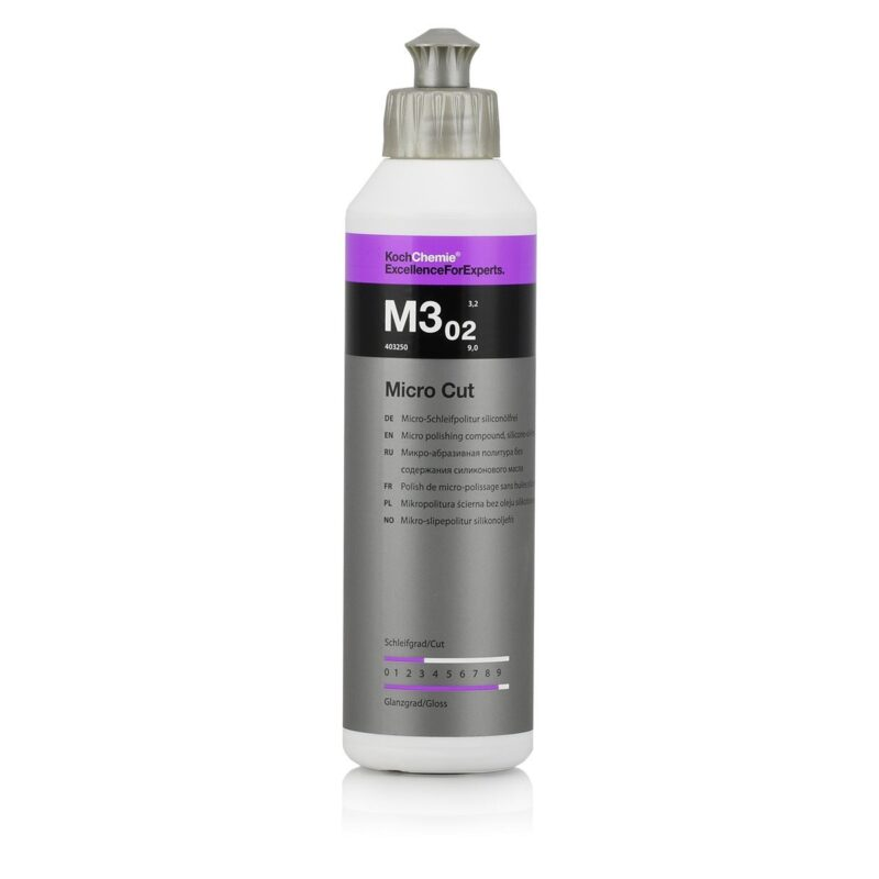 Koch Chemie Micro Cut Compound Polish | M3.02 250ml