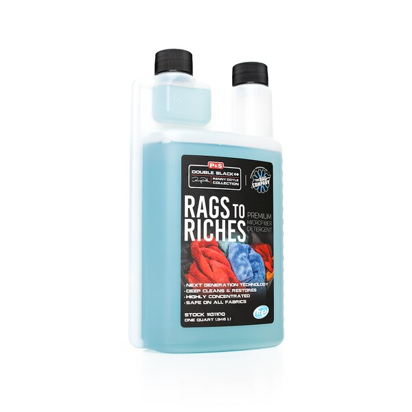 P&S Rags To Riches Microfiber Detergent | 32oz Towel Wash