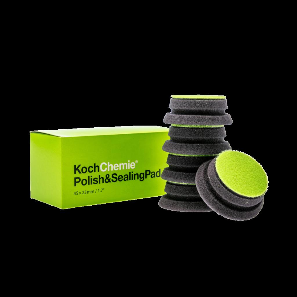 "2"" Koch Chemie Polish & Sealing Pad | Green Foam Pad 5 Pack"