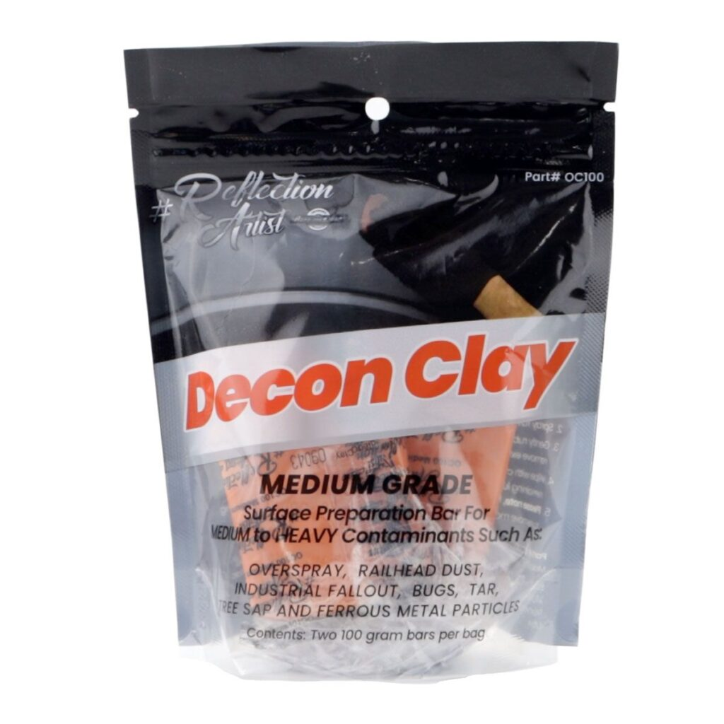 Buff and Shine Reflection Artist Decon Clay Medium Grade - 200 Gram
