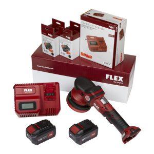 FLEX XFE 15 150 18.0-EC/5.0 | CORDLESS RANDOM ORBITAL POLISHER KIT
