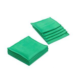 The Rag Company Glass & Window Towel 16 X 16 (Green)